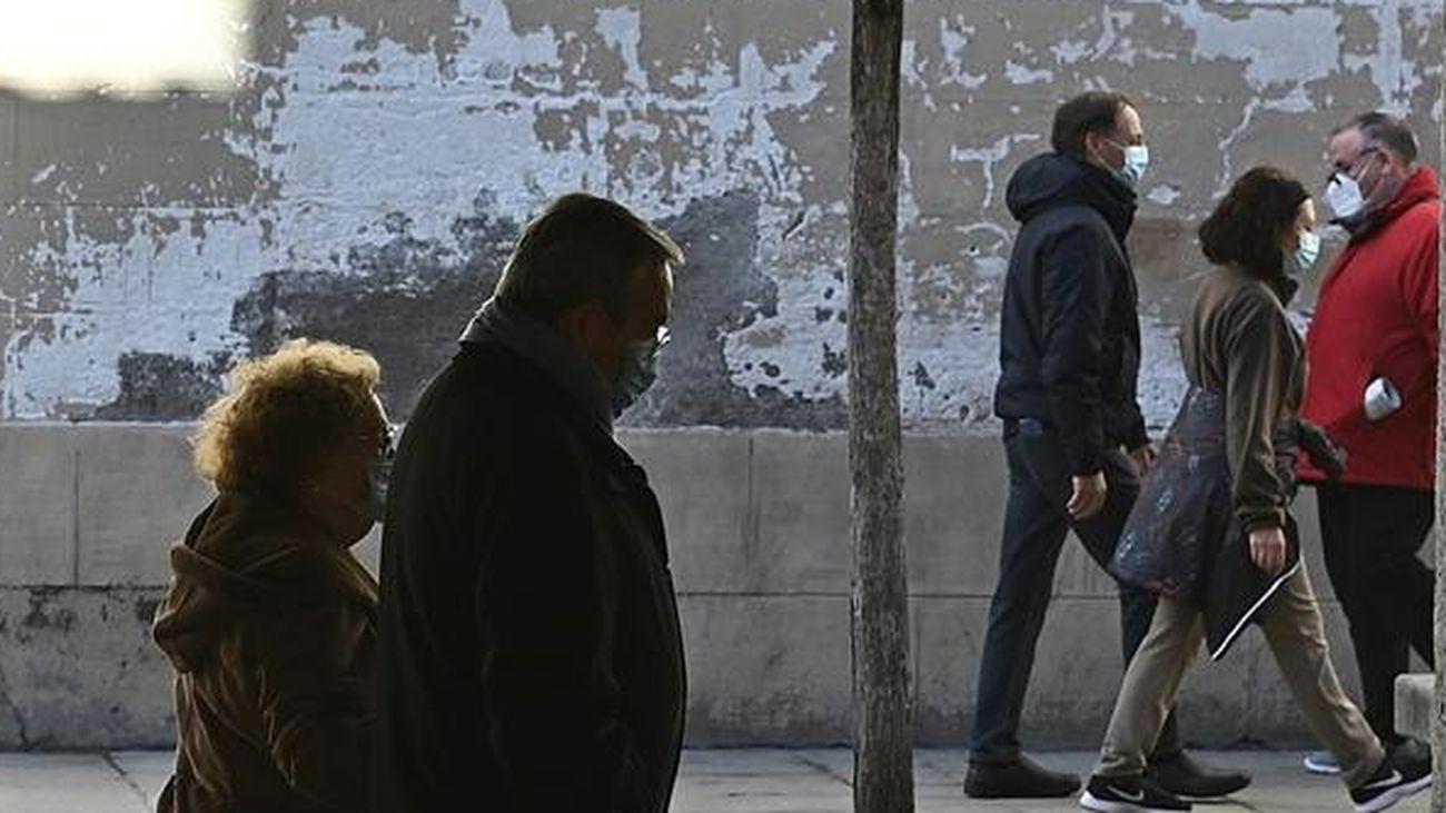 Tres distritos de Madrid con una tasa extrema de contagios: Salamanca, Chamberí y Centro