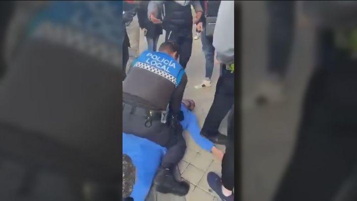 Denuncian a unos agentes en Rivas por una intervención polémica