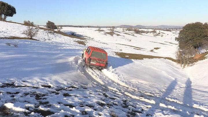La odisea de los ganaderos madrileños  durante el  invierno más crudo que recuerdan