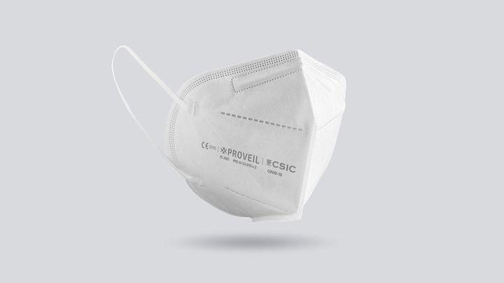 La supermascarilla del CSIC, con versión biodegradable, que inactiva al coronavirus