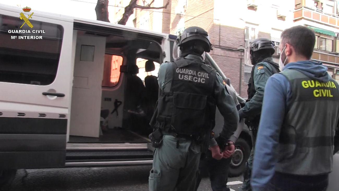 Detención Operación Río Lobos