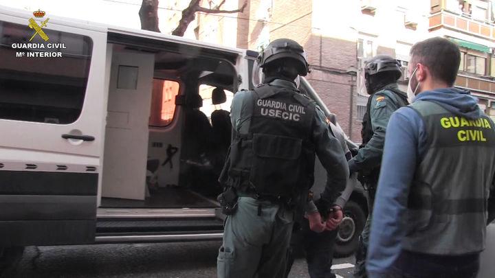 Desarticulado un peligroso grupo criminal en Madrid y Toledo que realizaba secuestros y torturas