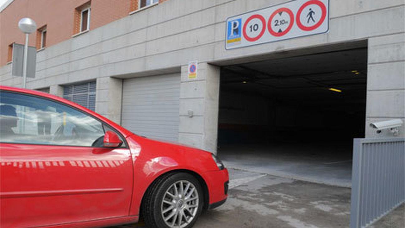 Campaña municipal de inspección en los aparcamientos de residentes de Madrid