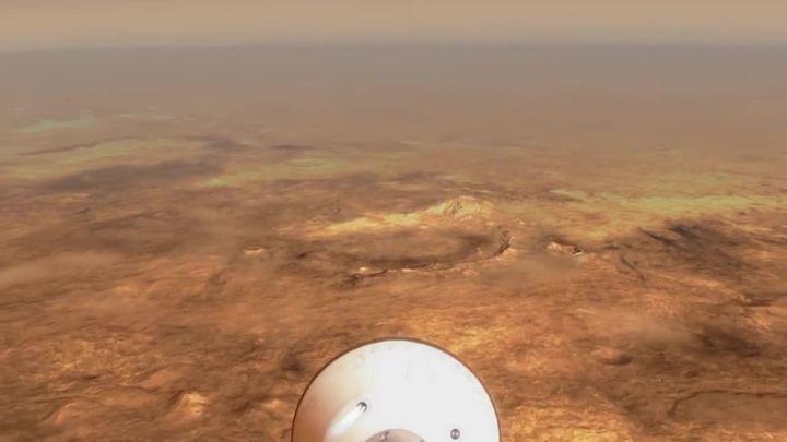 Los siete minutos de terror de Perseverance en Marte