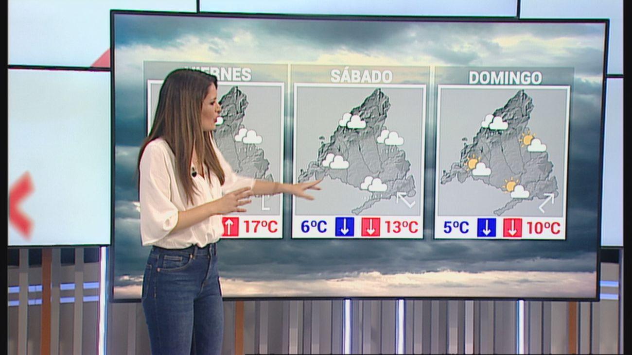 Lluvias y más frío en Madrid para el fin de semana