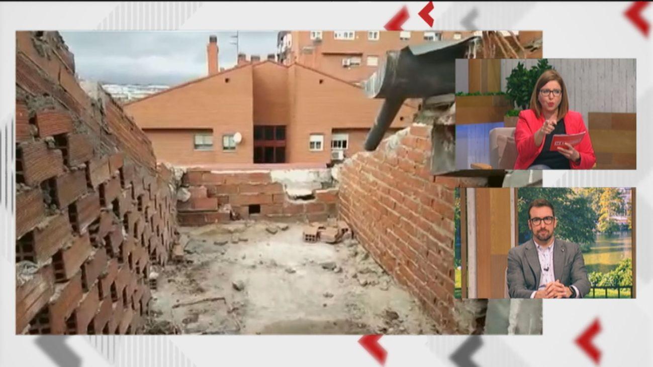 Llamada desesperada de socorro de los vecinos de Vallecas que están sin tejado desde hace semanas