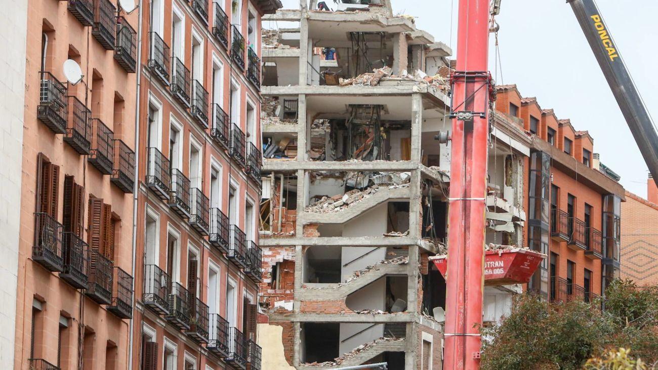 Explosión calle Toledo Madrid