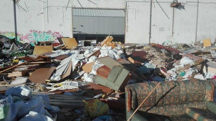 Ecologistas denuncian el aumento del vertedero del polígono industrial 'El Cascajal' de Pinto