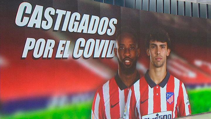 Atlético de Madrid, castigado por el coronavirus