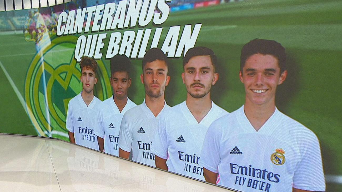 Las joyas de la cantera del Real Madrid
