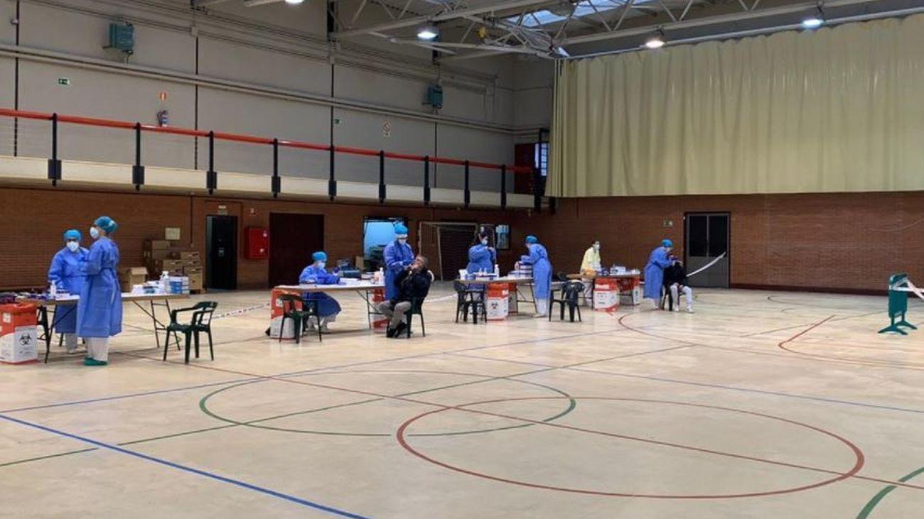 La Comunidad concluye este viernes la realización de test de antígenos en San Fernando