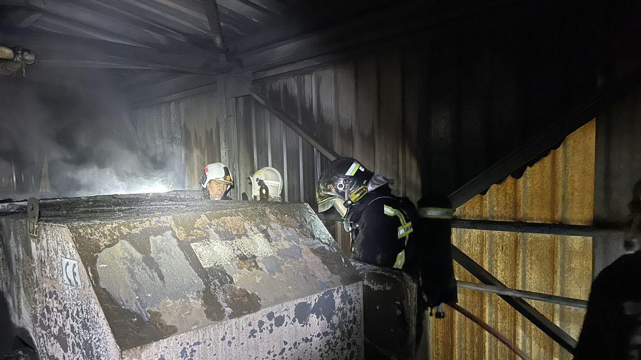 Extinguen un incendio declarado en cementera de Morata de Tajuña