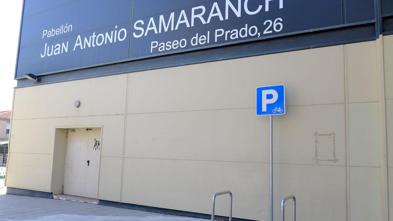 Pabellón municipal 'Juan Antonio Samaranch' de Valdemoro