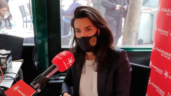 """Rocío Monasterio: """"Voy a perseguir a Ayuso y a Aguado para que abran la hostelería... si quieren presupuestos"""""""