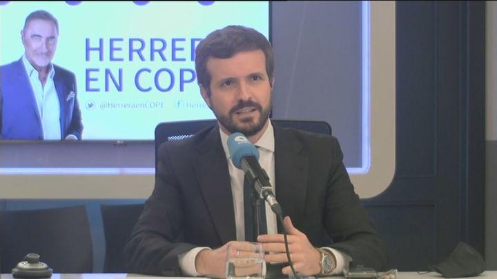 """Casado dice sobre Bárcenas que """"ese PP ya no existe"""" y sospecha de la filtración por la Fiscalía"""