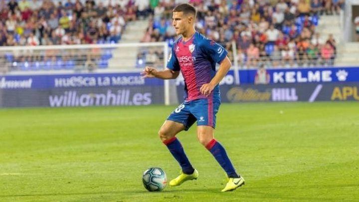 """Seoane, jugador del Huesca: """"Admiro mucho a Sergio Ramos"""""""