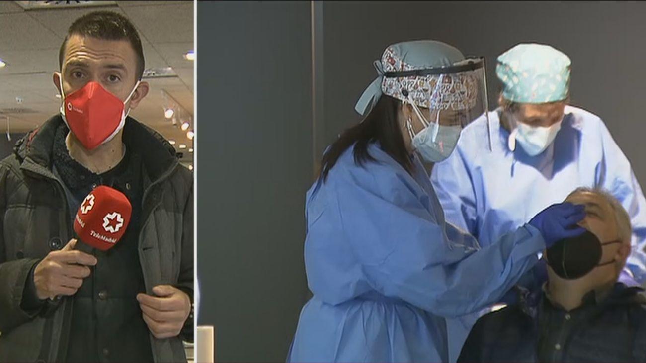 Arrancan en Arroyomolinos los test de antígenos para detectar contagios entre los vecinos
