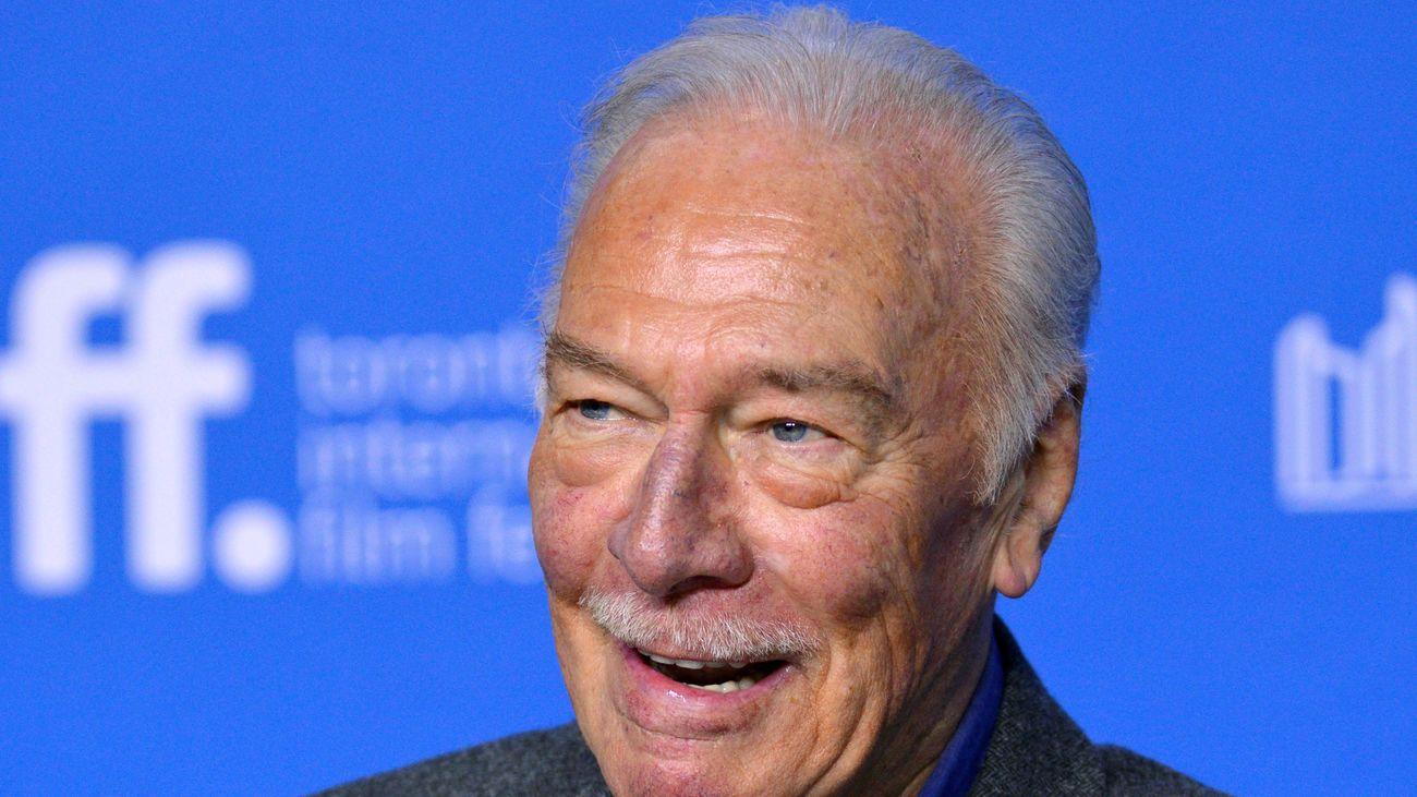 Muere a los 91 años el actor Christopher Plummer, famoso por 'Sonrisas y Lágrimas' y ganador de un Oscar en 2012
