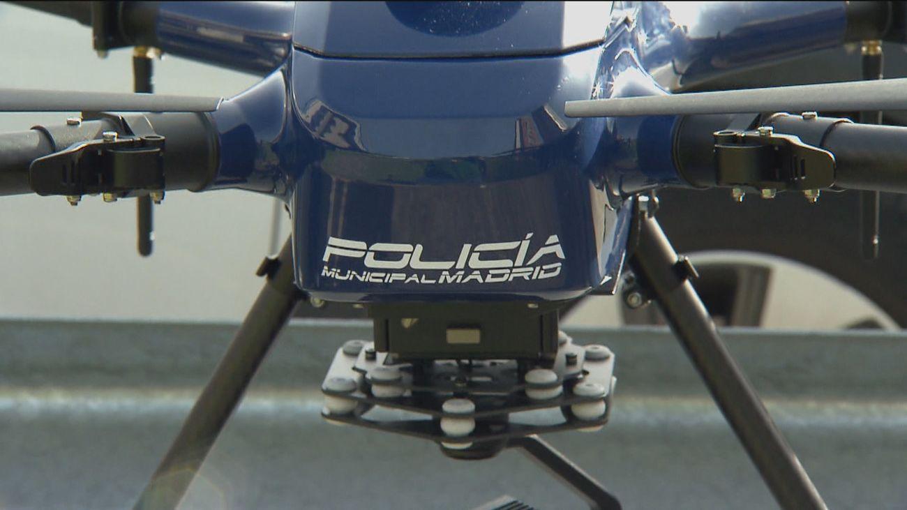 Drones de la Policía Municipal y un refuerzo de 70 agentes vigilarán las fiestas de la Paloma