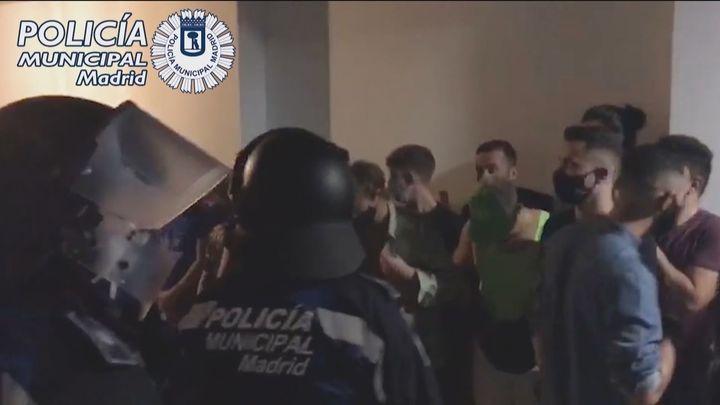 Casi  250 fiestas ilegales intervenidas en un sólo fin de semana en Madrid