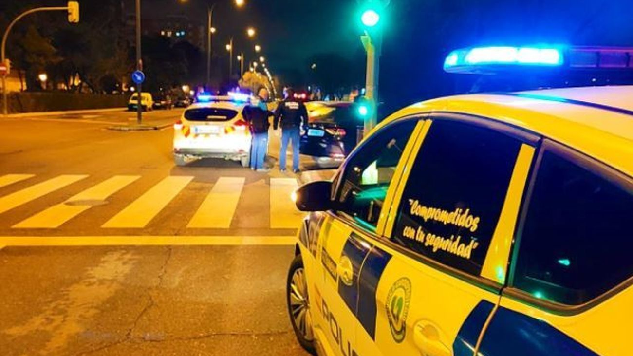 La Policía de Alcorcón denuncia a VTC tras dar positivo en test de alcoholemia