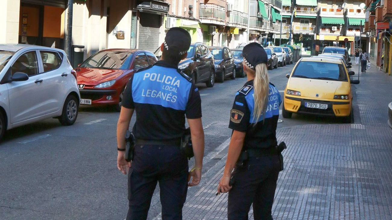 Policía local de Leganés