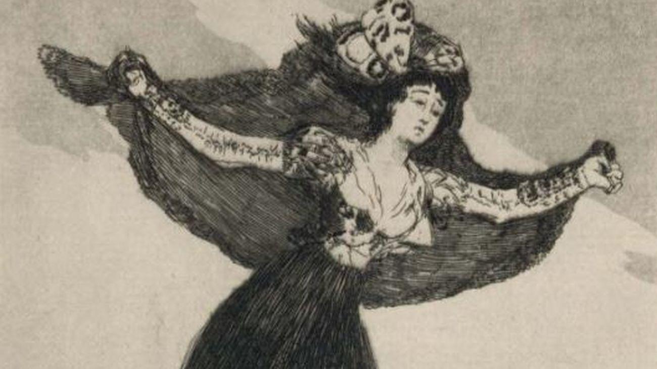 Los grabados de Goya sobre las mujeres se exponen en Hoyo de Manzanares