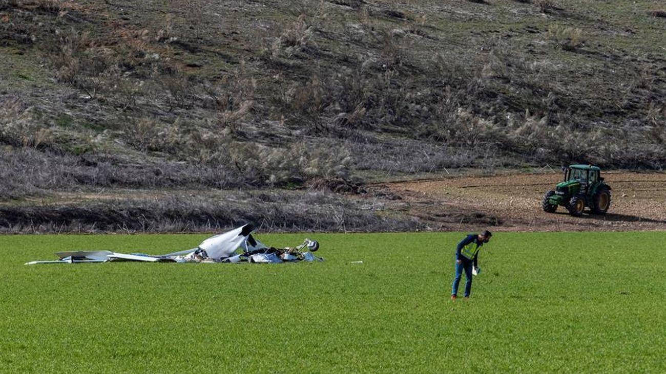 Fallecen dos personas en un accidente de una avioneta en Toledo