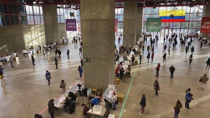 68.000 ecuatorianos empadronados en el Consulado votan en Madrid