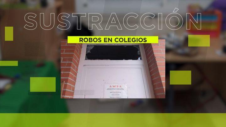 Los vecinos de Leganés denuncian decenas de robos en diferentes colegios de la zona