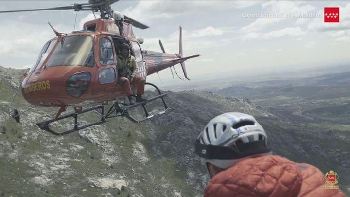 Las actuaciones del Grupo Especial de Rescate en Altura aumentan un 27 % el año pasado