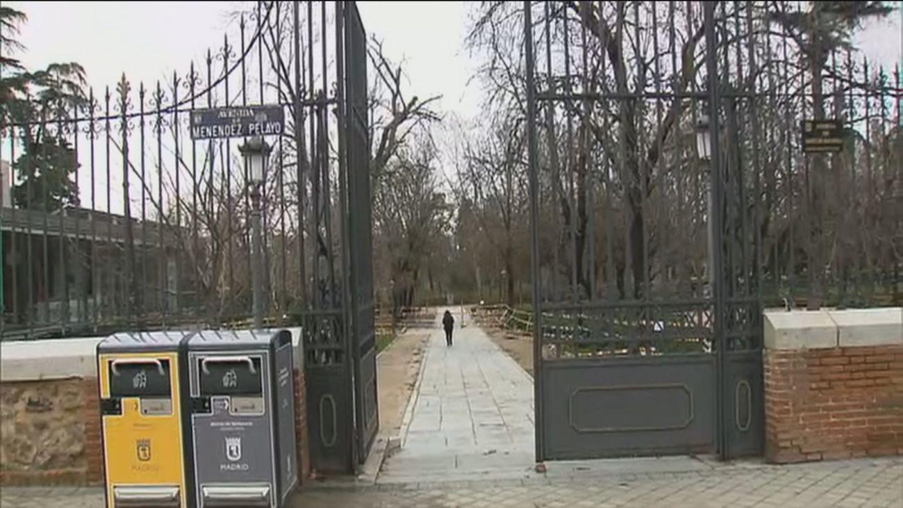 Los grandes parques de Madrid, un mes después de Filomena