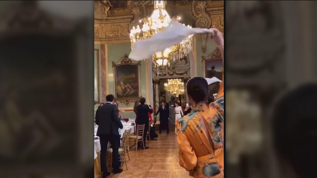 Enfado en las redes sociales por la celebración de una gran boda en el Casino de Madrid