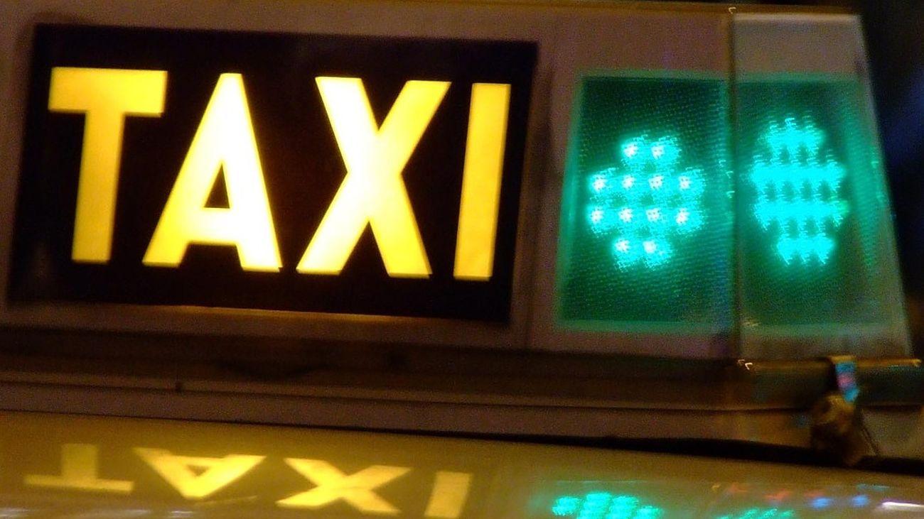 Persecución policial 'de película' en el centro de Madrid con la ayuda de un taxista