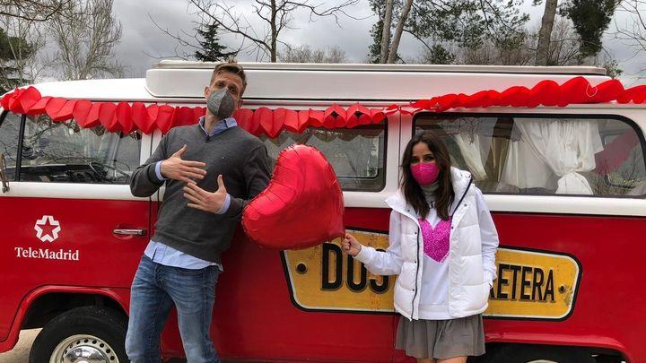 Este sábado vivimos un San Valentín muy especial en 'Dos en la carretera'