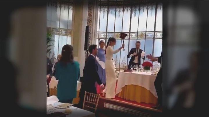 Elena Tablada se pronuncia sobre la polémica boda de su cuñada en el Casino de Madrid