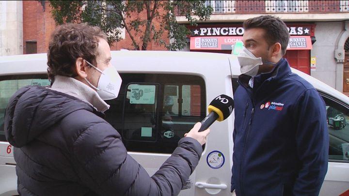 """Adolfo, el taxista que ayudó a la Policía una persecución de película: """"No me lo pensé"""""""