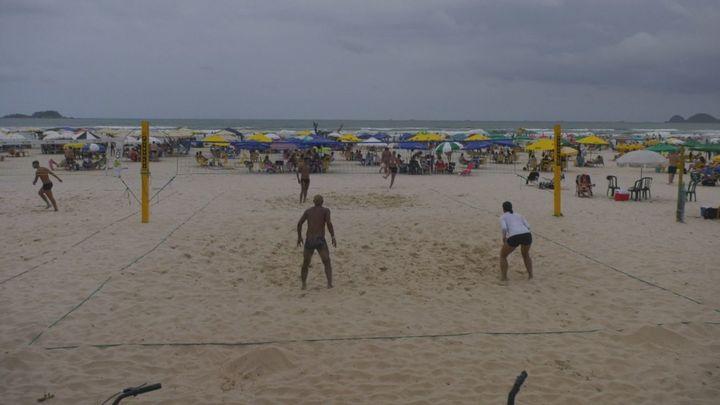 La playa Guaruja, un lugar perfecto para pasar el día si viajas a Sao Paulo