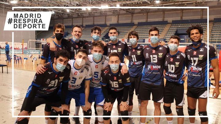 Voleibol Leganés no baja la guardia en la Superliga Masculina 2