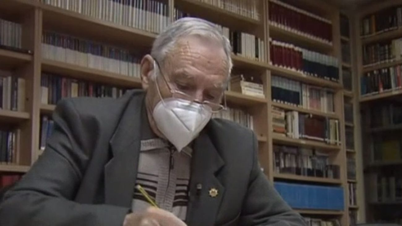 Cartas de amor en Valdemoro para luchar contra la pandemia y el alzhéimer