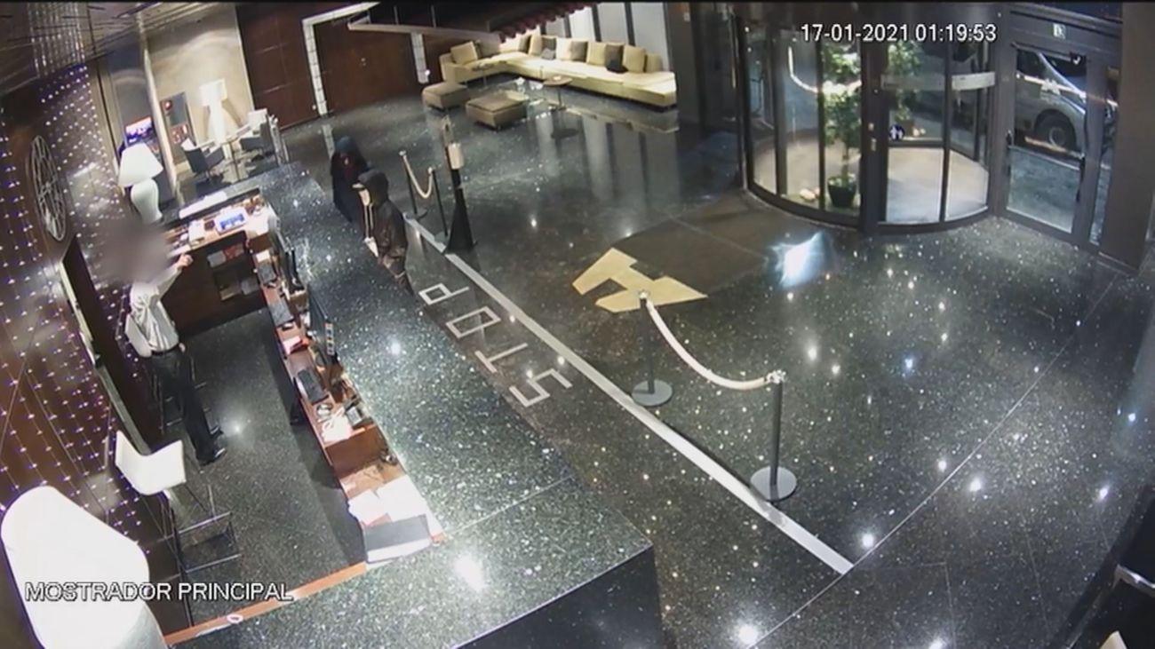 Dos ladrones detenidos por robar seis hoteles en menos de diez días en Hortaleza, San Blas, Getafe y Cercedilla