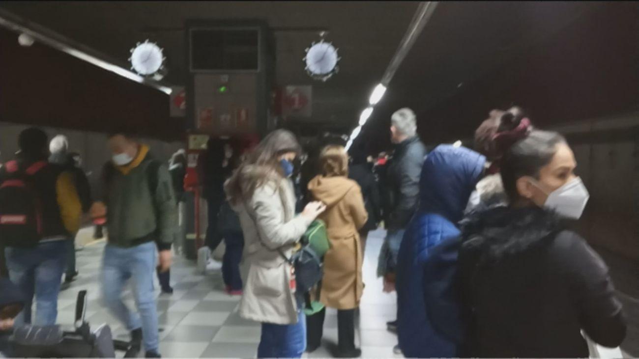 Quejas sin cesar por las aglomeraciones en Cercanías Madrid