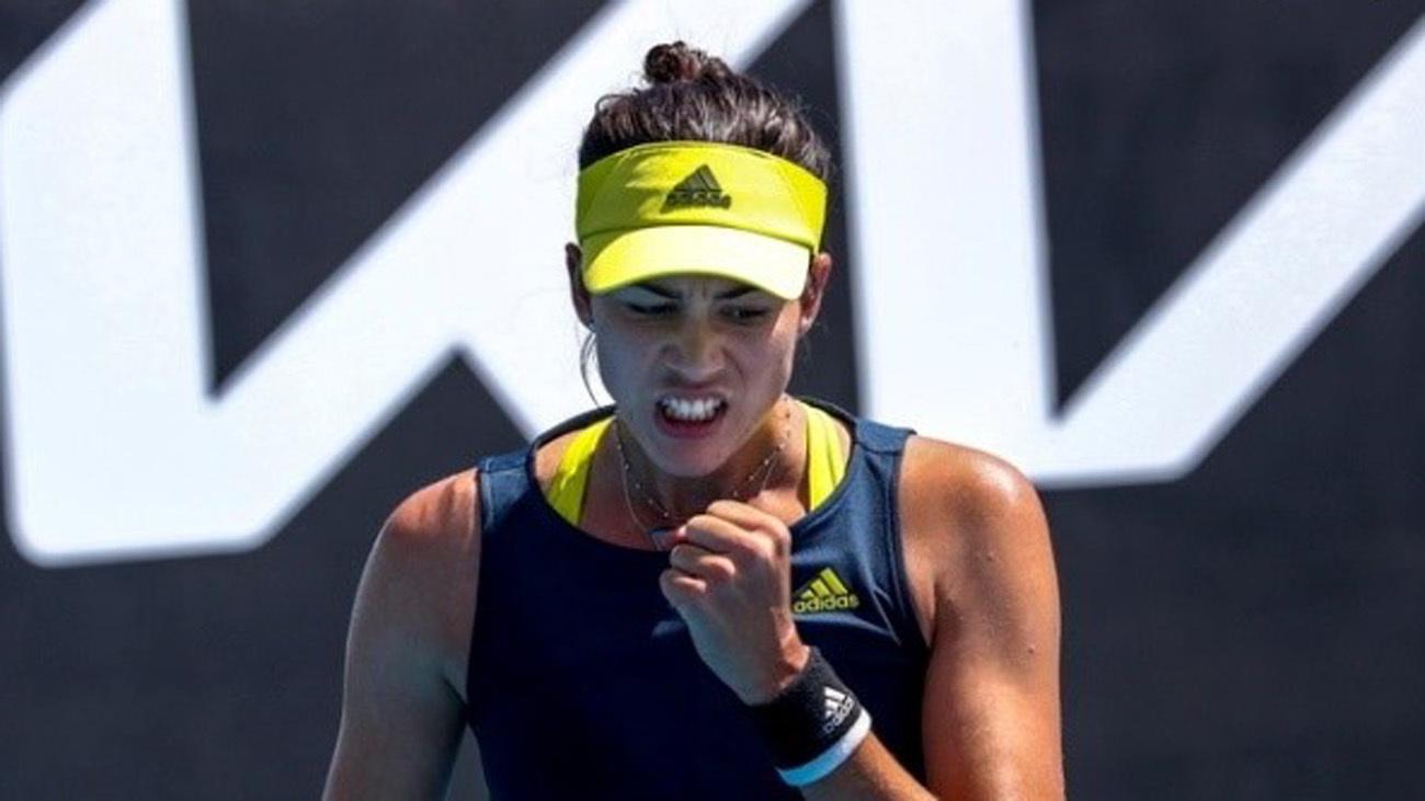 Muguruza supera con solvencia la segunda ronda del Abierto de Australia