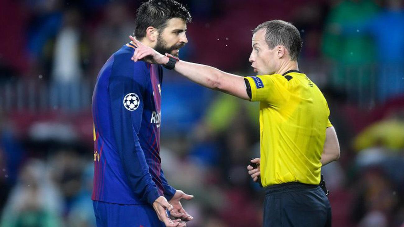 Expediente a Piqué por sus declaraciones contra los árbitros