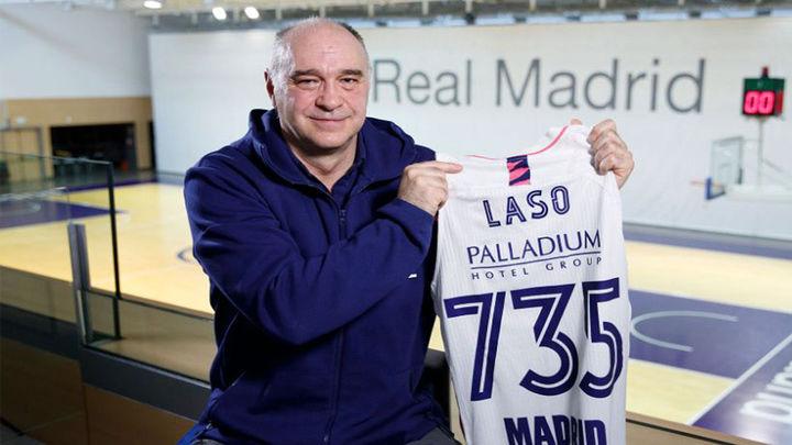 Laso agranda su leyenda y adelanta a Lolo Sainz en el banquillo del Real Madrid
