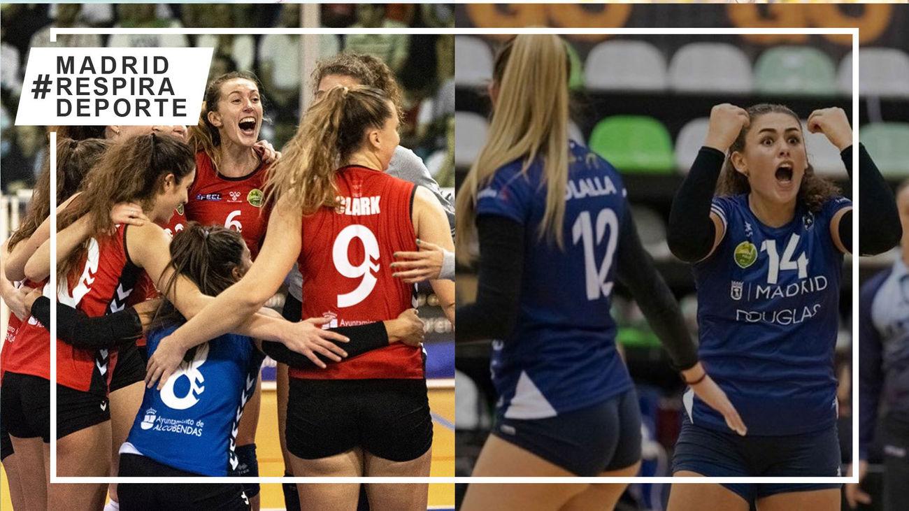 Voleibol Alcobendas y Voleibol Madrid