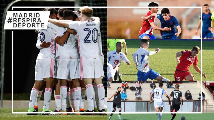 El Castilla gana al Las Rozas, empates en el Naval-Atleti B y Rayo Majadahonda-Getafe B