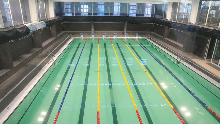 Remodelada la piscina del centro deportivo Triángulo de Oro de Tetuán