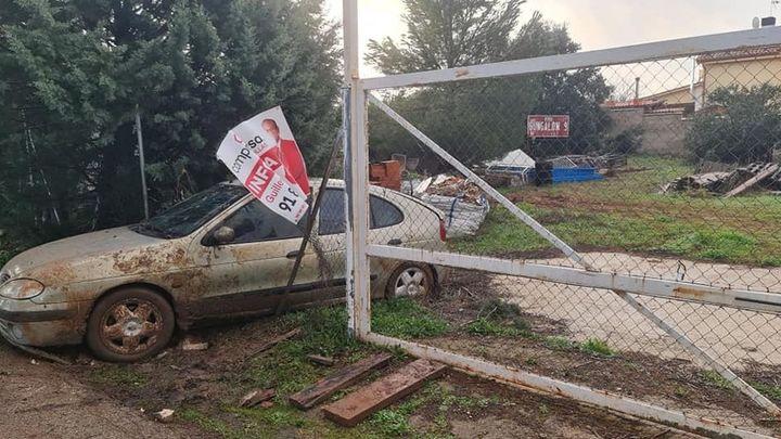 La Policía de Nuevo Baztán detiene a un ladrón atrapado en su propio coche