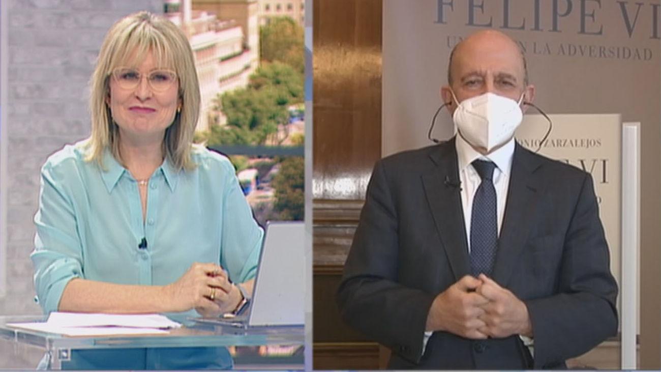 """José Antonio Zarzalejos: """"La princesa Leonor es una reina a la espera"""""""